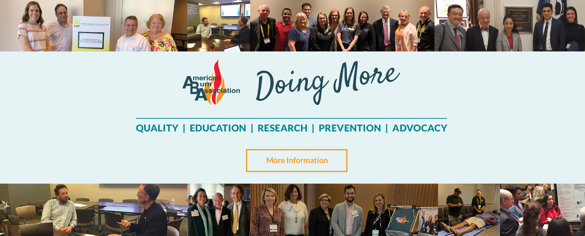 Image promoting ABA Doing More Campaign, click for more information