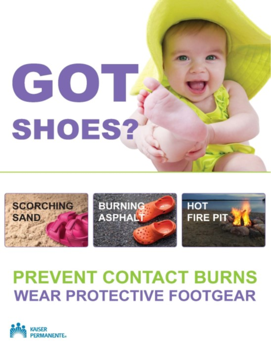 Burn Prevention Poster 2019 2nd-place